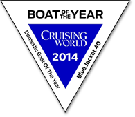 CruisingWorld Blue-Jacket-40 Boat Of The Year Domestic Cruiser 2014