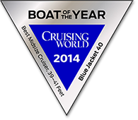 CruisingWorld Blue-Jacket-40 Boat Of The Year Midsize Cruiser 2014